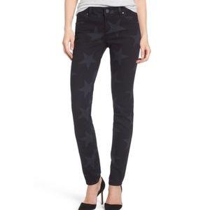 Kut From the Kloth Mia Star Print Skinny Jeans